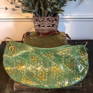 BETSEY JOHNSON 90's Suede Bag